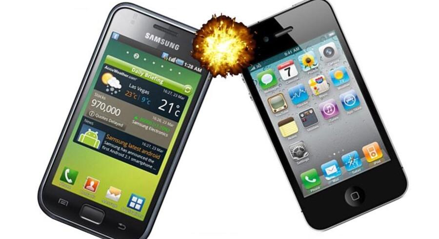 Nu forsøger Samsung sig med et modangreb mod Apple med søgsmål om brug af trådløs teknologi - i Australien.