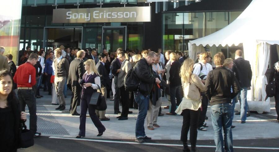 Sony Ericsson har udviklingscenter i Lund ved Malmö. Foto: Thomas Breinstrup