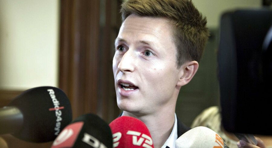 Arkivfoto. Socialdemokraternes Jesper Petersen afviser Venstres forslag om flad skat.