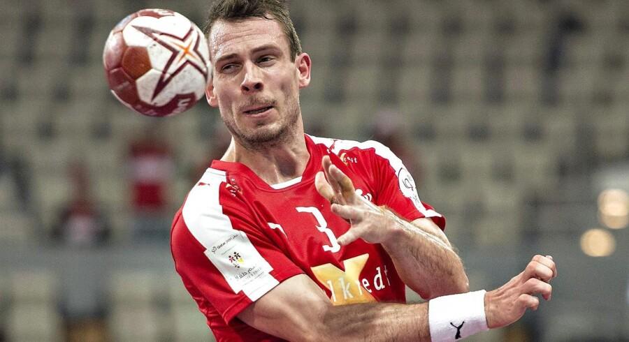 Håndbold VM Qatar - Danmark - Argentina. Mads Christiansen.