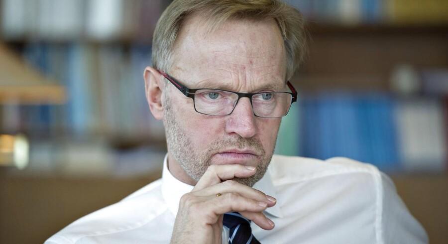 """Anders Dam og hans kolleger fik noget at gruble over, mens sagen om investorers tab på """"markedsneutrale obligationer"""" stod på."""