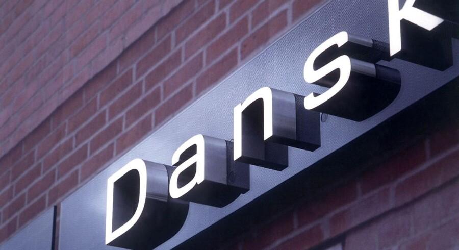 Den Danske Banks nye logo.