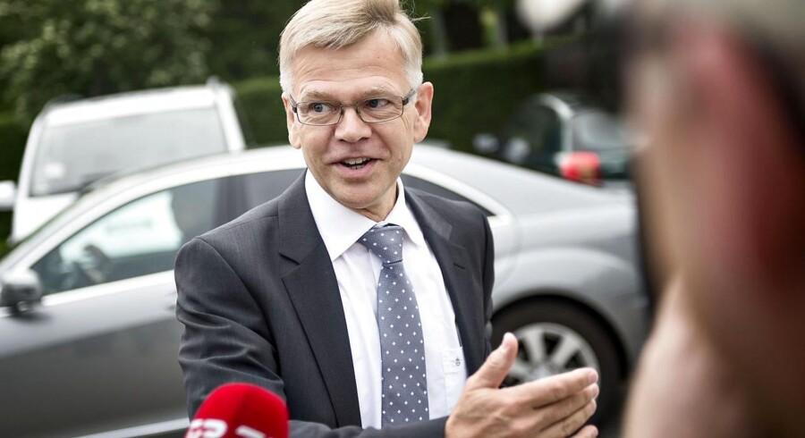 »Nu gælder det om at fastholde kursen, så vi ikke sætter det hele over styr,« siger Karsten Dybvad, administrerende direktør i DI.