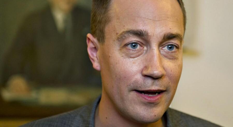 ARKIVFOTO. Transportminister Magnus Heunicke er bekymret for, at metrobyggeriet bliver forsinket.