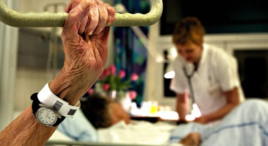 """Regering og regioner vil nu indføre """"differentieret"""" behandling af syge. Foto: Lars Helsinghof Bæk"""