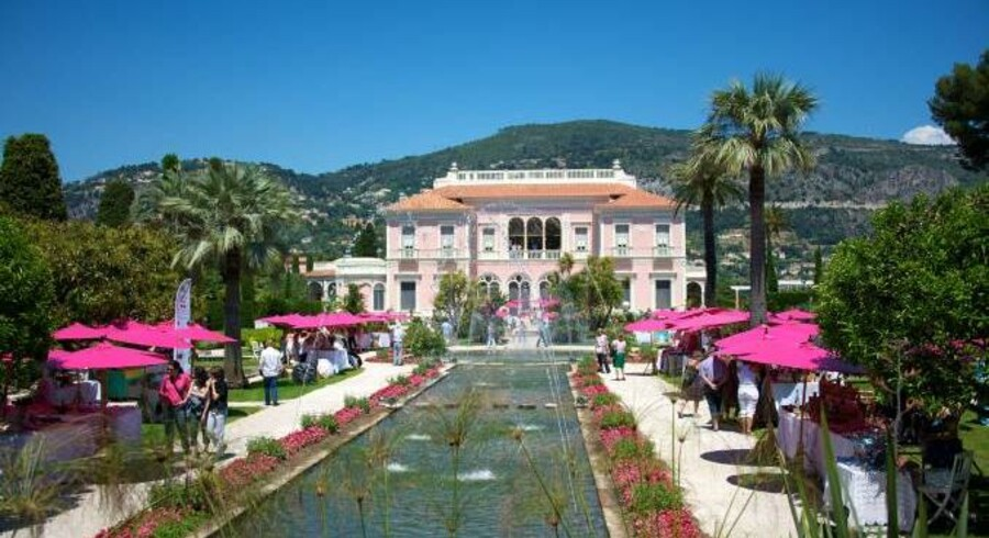Hotel Villa Ephrussi i Saint-Jean-Cap-Ferrat.