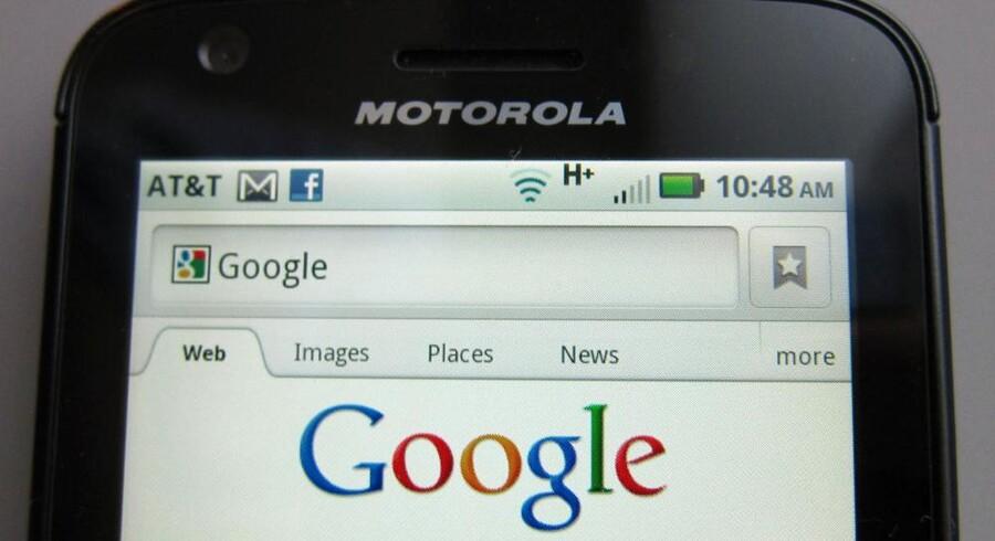 Googles overtagelse af Motorola må vente yderligere. Arkivfoto: Brendan McDermid, Reuters/Scanpix