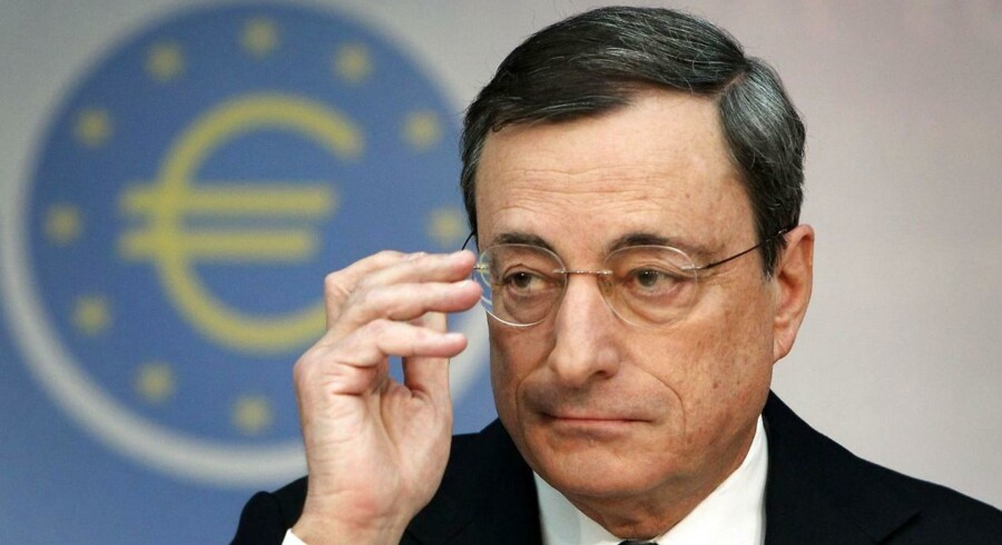 Mario Draghi, formand for ECB