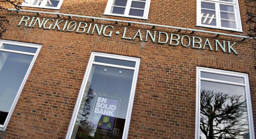 Ringkjøbing Landbobank står på fire ben, og banken bruger forskellige redskaber til at forhindre tab i hver enkelt af dem.