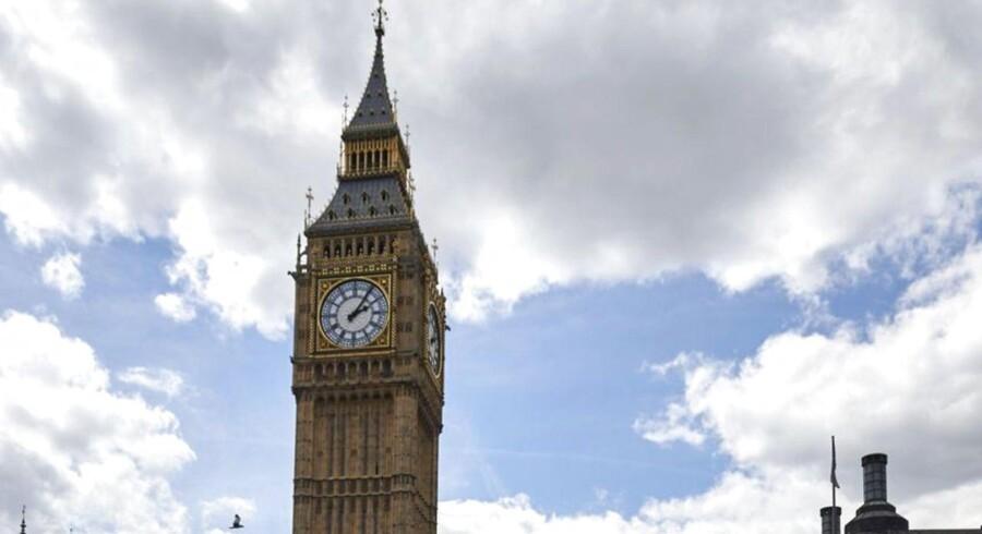 En ny undersøgelse foretaget af tænketanken Pew Research Center viser en markant stigning i antallet af briter, der ønsker at forblive en del af EU-samarbejdet. ARKIVFOTO