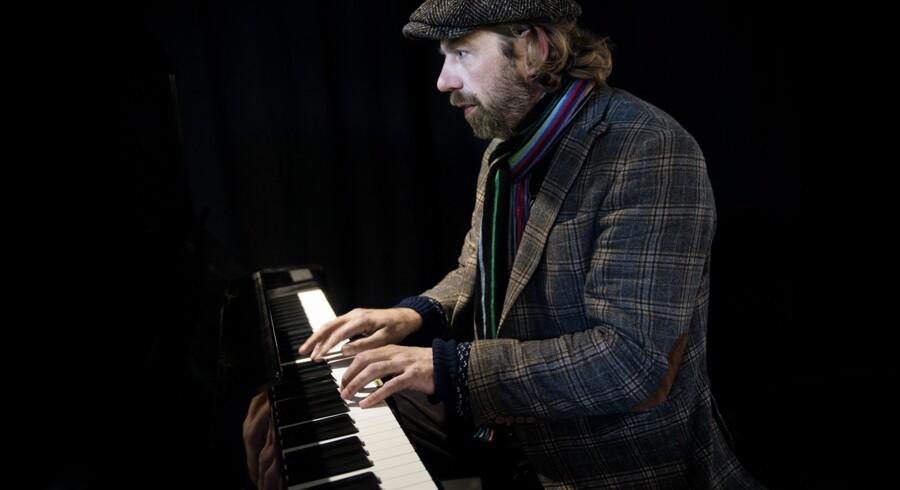 Pianisten Carsten Dahl. Foto: Liselotte Sabroe