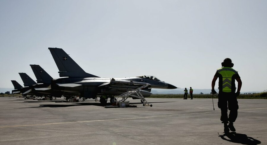 For to år siden deltog danske F16 kampfly i luftkrigen mod Libyen. Men Syriens militær vil i givet fald blive en væsentlig sværere modstander. (Foto: Christian Als/Scanpix 2011)