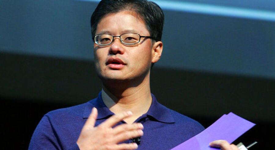 Jerry Yang er en af idemændene bag Yahoo og beviset for, at idemænd ikke nødvendigvis er gode chefer.