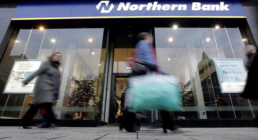 Købet af Northern Bank og National Irish Bank har kostet Danske Bank minimum 30 milliarder kroner. De mange retssager mod trængte kunder spytter kun en smule i kassen.