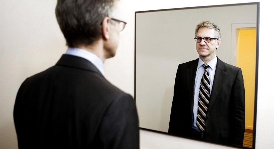 """Jens Howitz, tidligere formand for VL-grupperne. Han var kendt som en """"strammer""""."""