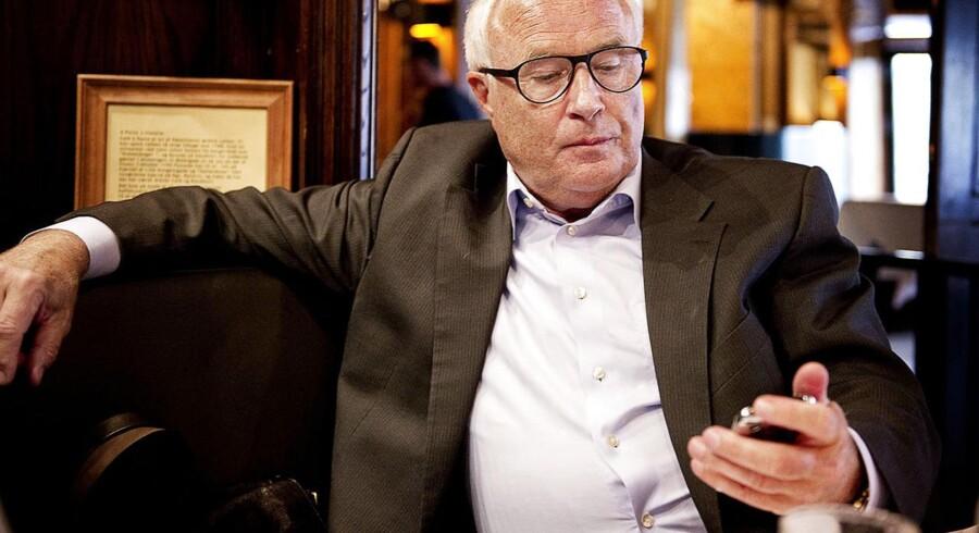 Flemming Østergaard - også kendt som Don Ø - kom ud af 2012 med et plus på knap en million kroner.