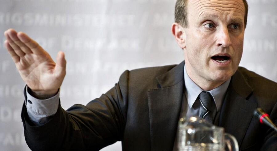 Klima-, energi- og bygningsminister Martin Lidegaard (R).