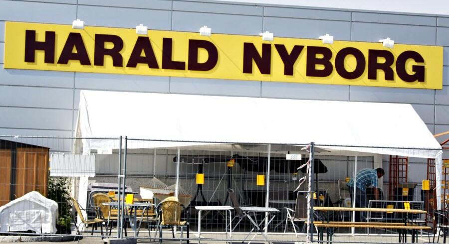 Byggemarkedet Harald Nyborg planlægger at åbne en stribe nye butikker i det kommende år.