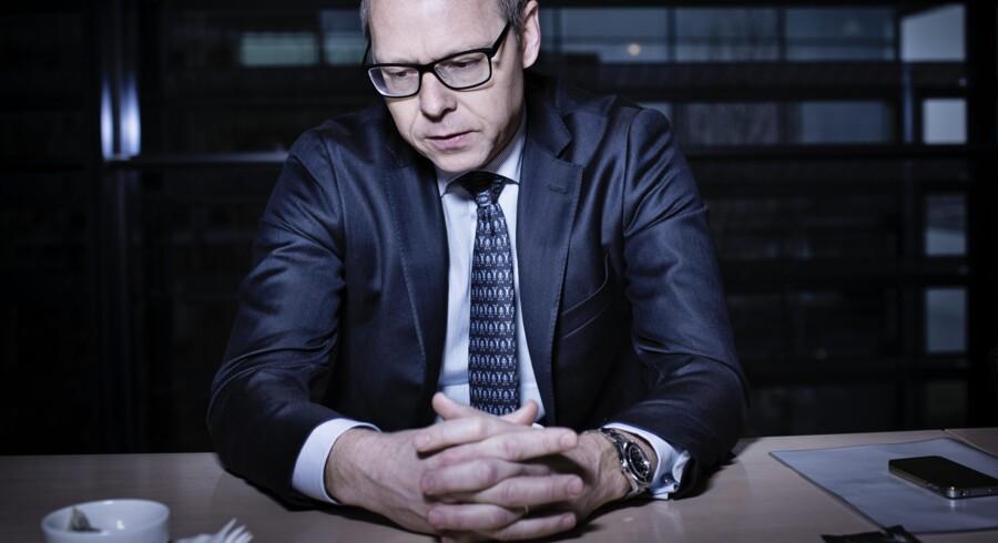 Nykredits nye topchef, Michael Rasmussen, står over for for en stribe markante udfordringer. Foto: Thomas Lekfeldt