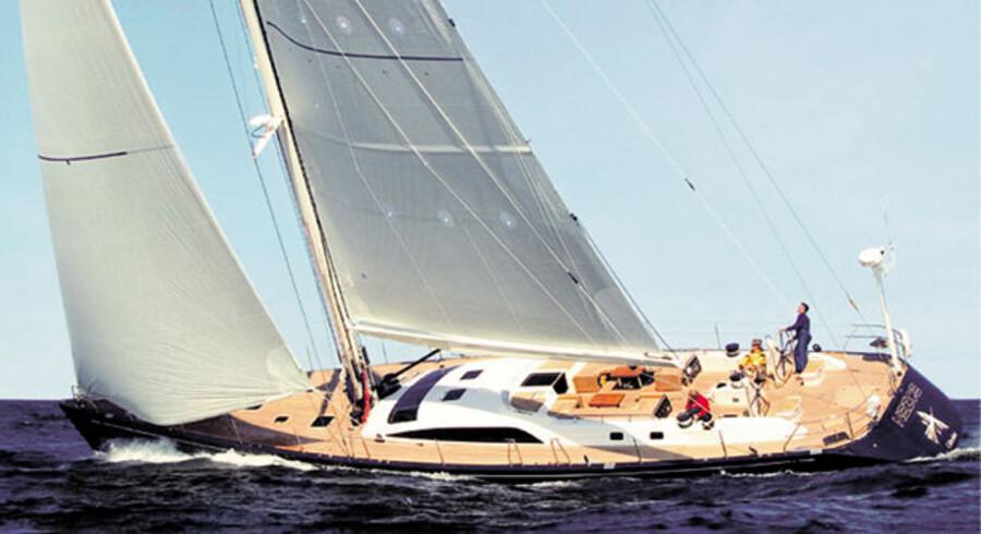 Mærsk Mc-Kinney Møllers nye båd er en Nautor Swan 82 RS.