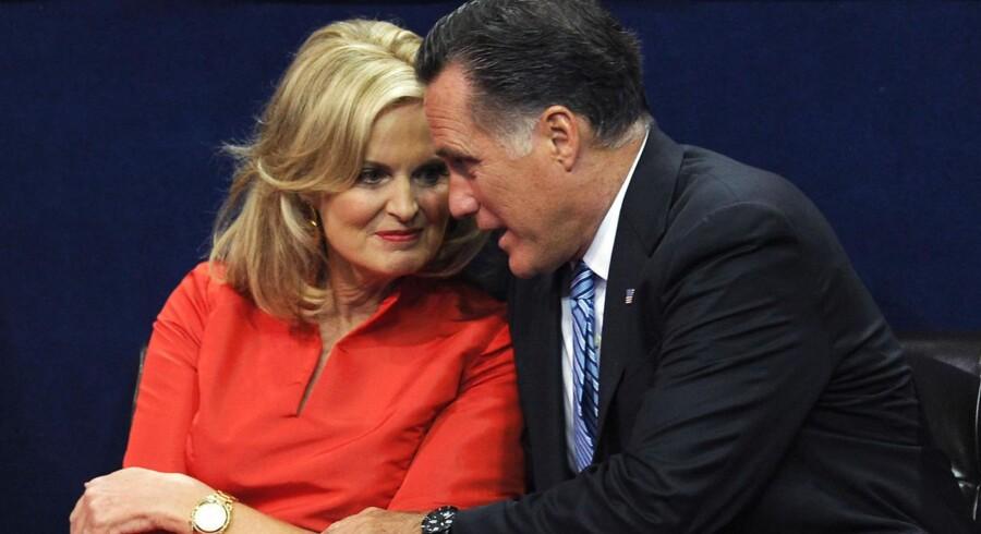 Ann Romney slog i hendes tale fast, at hendes mand har arbejdet hårdt og derfor har fortjent sin succes.