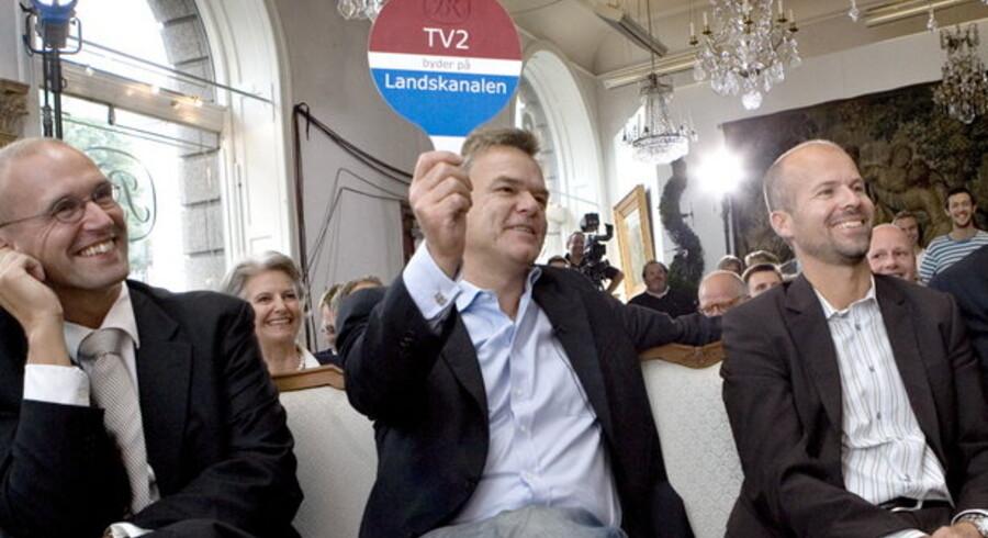 Tidl. adm. dir. i TV 2 Per Mikael Jensen, da han bød på TV 2 Radio.