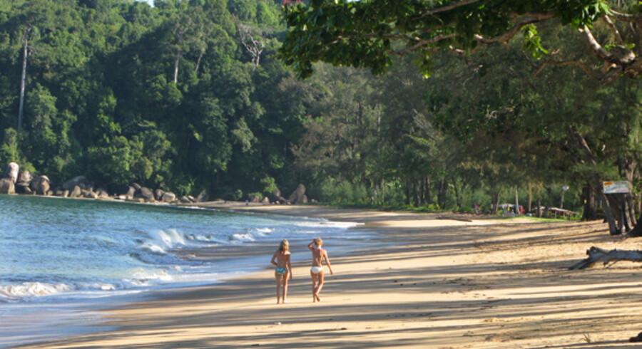 Der er i alt omkring 165.000 danskere på ferie i Thailand i løbet af denne vintersæson.