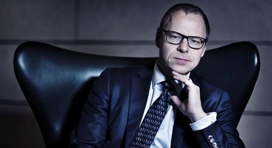 Michael Rasmussen, topchef i Nykredit, har en række hovedpiner.