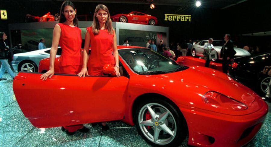 I første halvår blev der solgt fem nye Ferrarier i Danmark, mod tre i første halvdel af 2008. Det vides ikke, om nogle af køberne var børsmæglere, men det kunne det være.