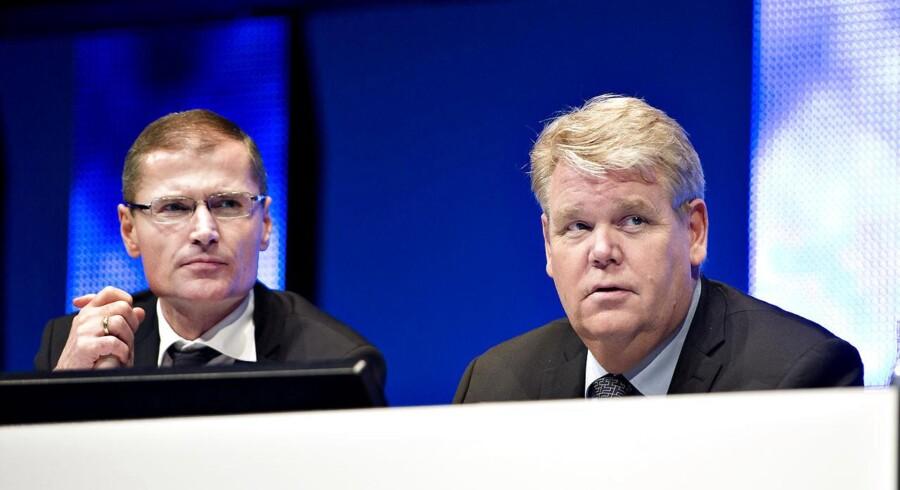 Bestyrelsesformand Bert Nordberg har afskediget koncernchef Ditlev Engel og hentet Anders Runevad fra Ericsson.