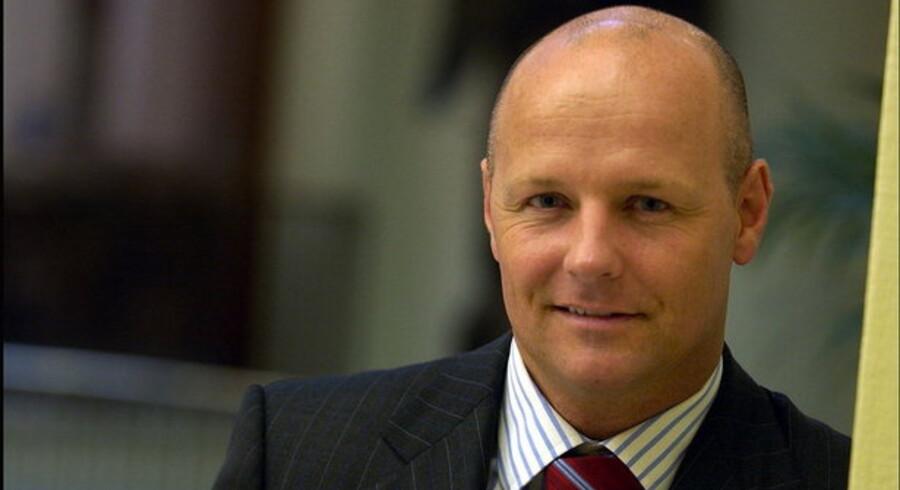 Danske Banks økonomidirektør, Tonny Thierry Andersen, præsenterer et væsentligt mere dystert billede af bankernes udfordringer end kollegaen fra Nordea.