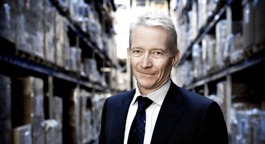 Topchef Lars Rasmussen for Coloplast er godt tilfreds med resultatet for halvårsregnskabet 2012/2013, hvor Coloplast voksede på alle forretningsområder.