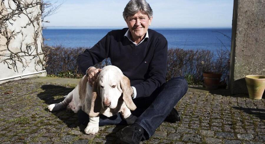Ejendomsmægler Jan Fog blev 66 år.
