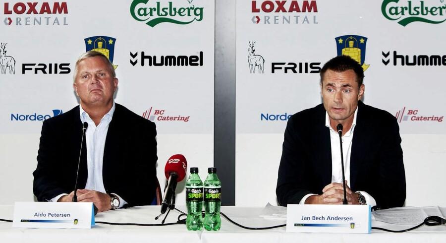 Formand Aldo Petersen præsenterede den nye investor Jan Bech Andersen i sommer.