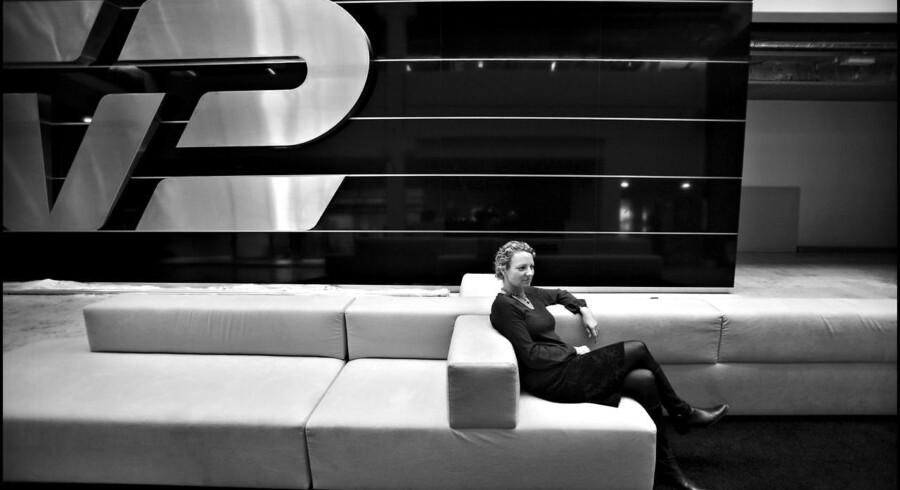 TV2 direktørs Merete Eldrup havde regnet med at tabe seere, siger hun.