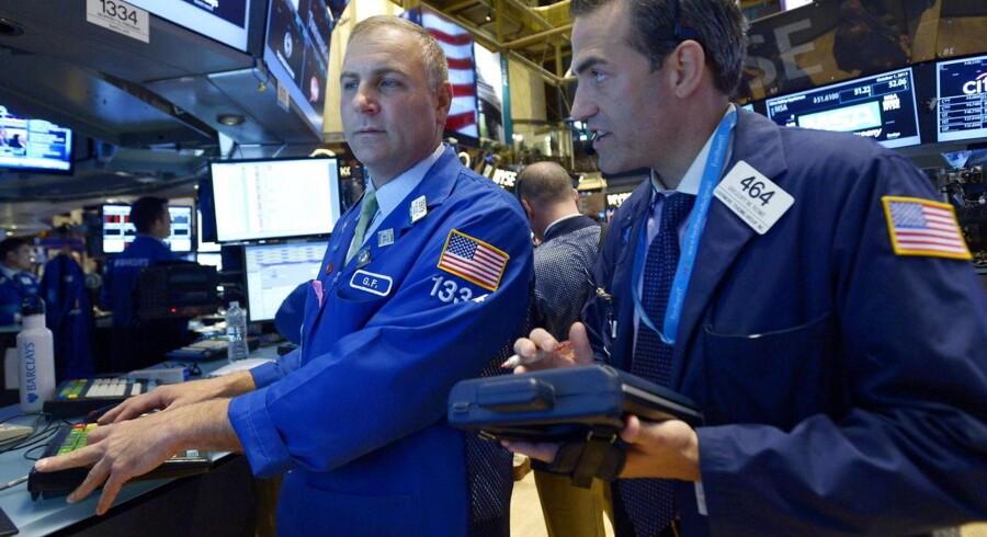 Børsmæglerne på New York Stock Exchange måtte i ugens løb tage hensyn til nationens parlamentarikeres noget uforudsigelige adfærd.