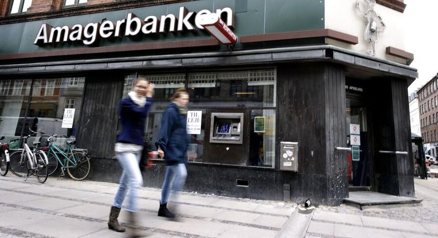 Amagerbanken er ikke længere en bank, men et finansselskab.