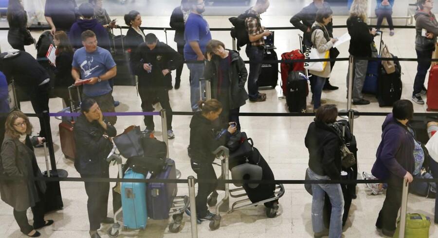 Den nye terminal i London Heathrow skal igennem en langvarig test for at afværge det kaos, der indtraf ved seneste terminalåbning.