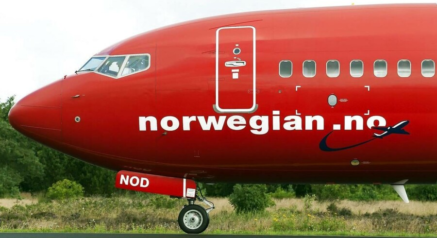 Det har ikke være gnidningsfrit for Norwegian at kaste sig ud i langruteflyvninger. Her sas et af selskabets fly til de kortere distancer.