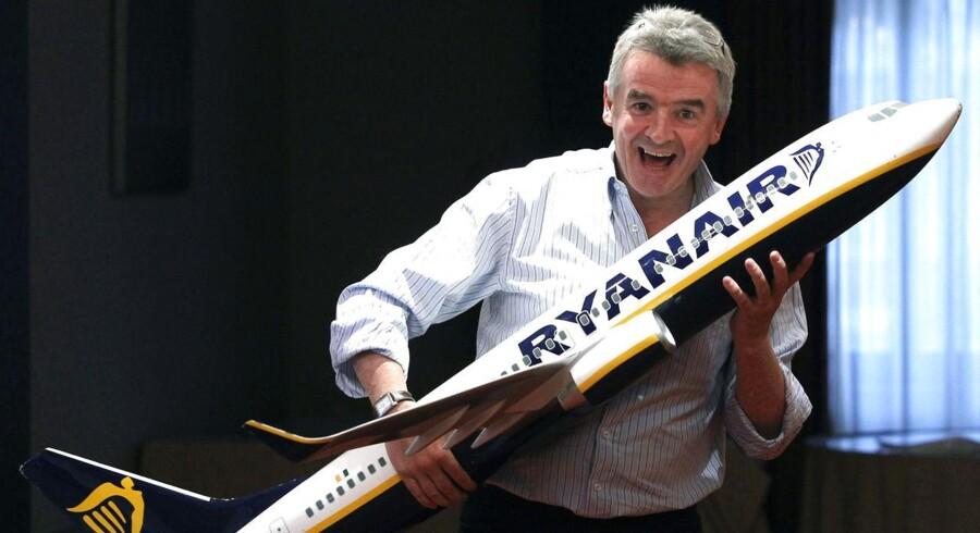 Ryanairs karismatiske topchef, Michael O'Leary