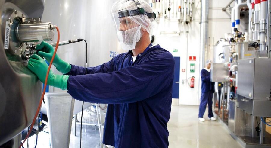 Store danske virksomheder - her medicinalvirksomheden Novo Nordisk - bidrager med store beløb til statskassen, og kritikken af erhvervslivet for at snylte på samfundet er uberettiget, mener Dansk Industri.