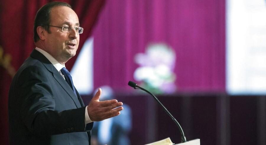 Vedtagelsen af Frankrigs præsident, François Hollandes, økonomiske genopretningsplan ligner et point of no return i den europæiske centrum-venstrefløjs generelle nedtur.
