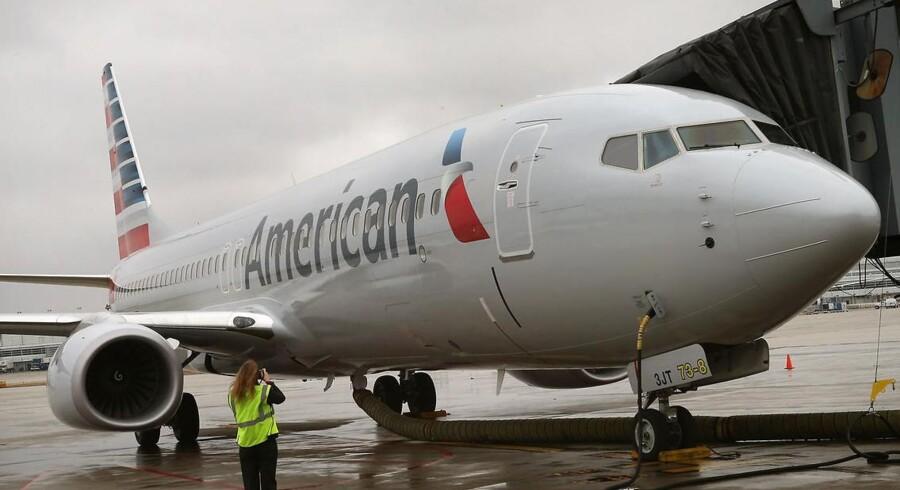 Aftalen om en sammensmeltning mellem US Airways og American Airlines kommer tættere på, og kan afhjælpe de to flyselskabers skrantende økonomi