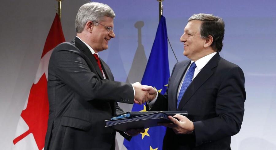 EU har indgået en samhandelsaftale med Canada, som vil give op mod 1000 nye job i Danmark.