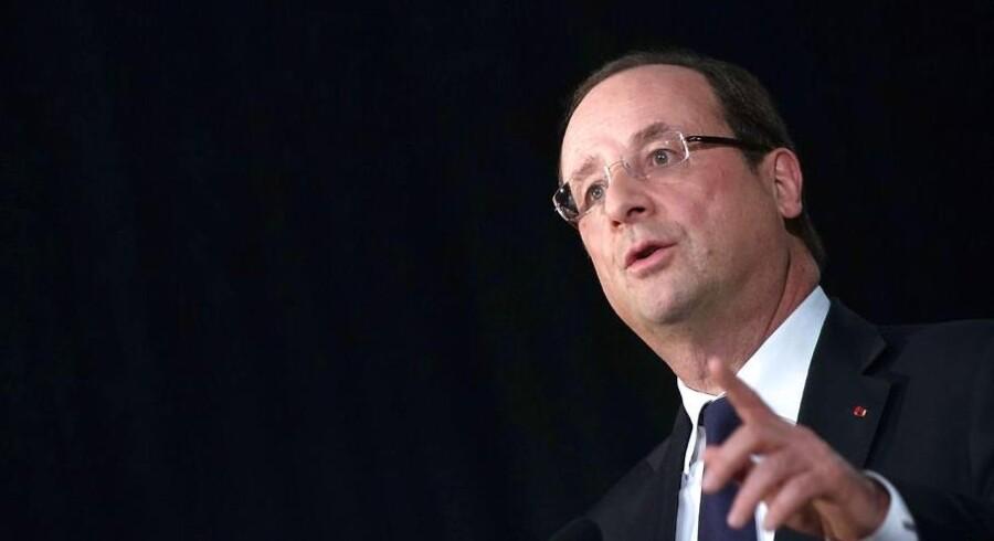 Den franske præsident, Francois Hollande.