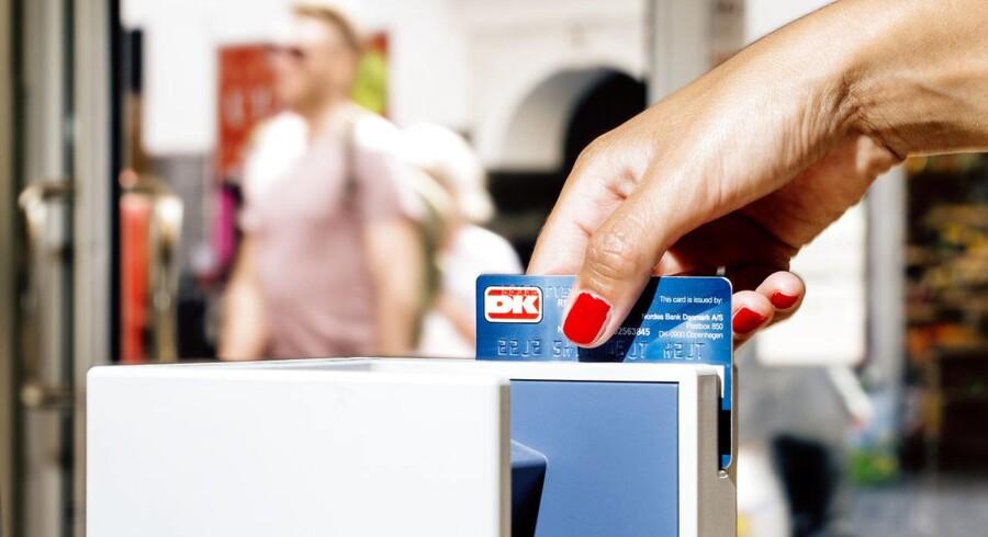Turister oplever, at de kun kan betale med dankort, når de besøger Danmark
