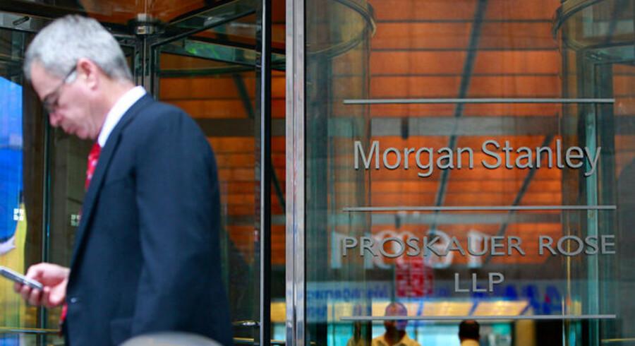 I modsætning til de andre store amerikanske finanshuse havde Morgan Stanley et elendigt andet kvartal.