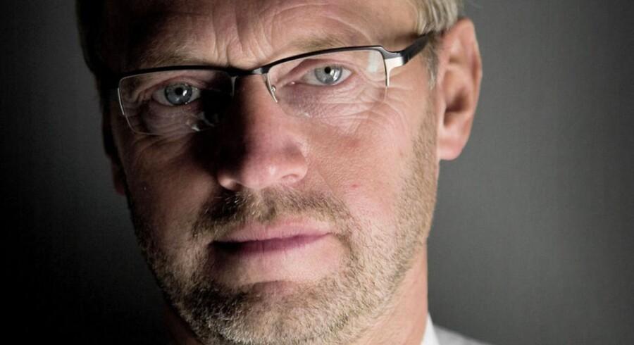 """""""En trist dag"""" kalder ordførende direktør i Jyske Bank Anders Dam denne torsdag."""