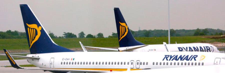 Så er det Ryanairs tur til at få en omgang i vridemaskinen: SAS svarer igen i tyggegummistriden.