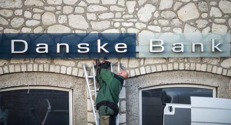 Vi kommer ikke uden om, at vi også var nødt til at foretage afskedigelser, lyder der fra Danske Banks HR-chef.